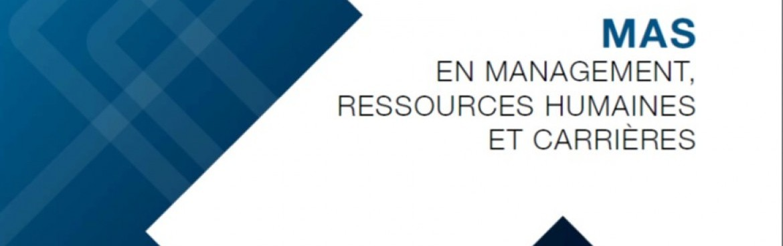 Délai d'inscription MAS en MRH et Carrières 2018-19 : 15 octobre 2017